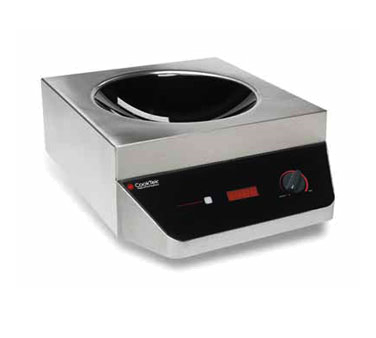 CookTek 647101 induction range, wok, countertop