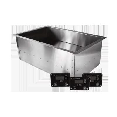 CookTek 661601 induction food pan warmer, drop-in
