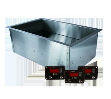 CookTek 661701 induction food pan warmer, drop-in
