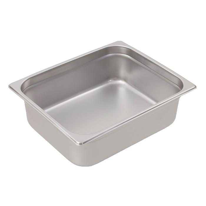 Crestware 2122 steam table pan, stainless steel