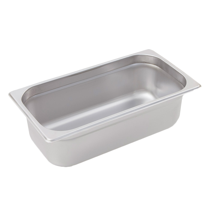 Crestware 2134 steam table pan, stainless steel