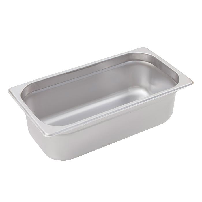 Crestware 2136 steam table pan, stainless steel