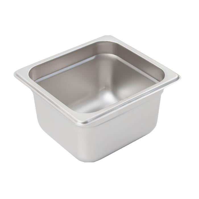 Crestware 2164 steam table pan, stainless steel