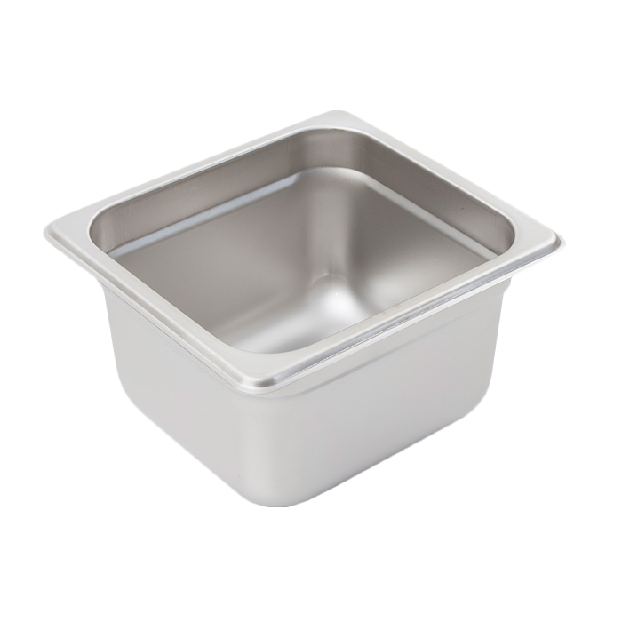Crestware 2166 steam table pan, stainless steel