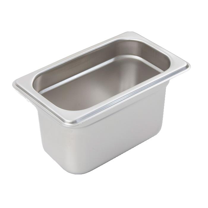 Crestware 2192 steam table pan, stainless steel
