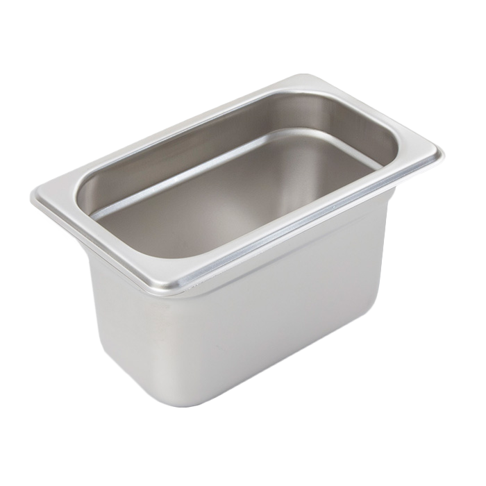 Crestware 2194 steam table pan, stainless steel