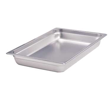 Crestware 2222 steam table pan, stainless steel