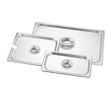 Crestware 2330 steam table pan cover, stainless steel