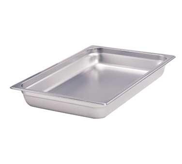 Crestware 4004 steam table pan, stainless steel