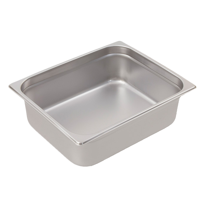 Crestware 4124 steam table pan, stainless steel