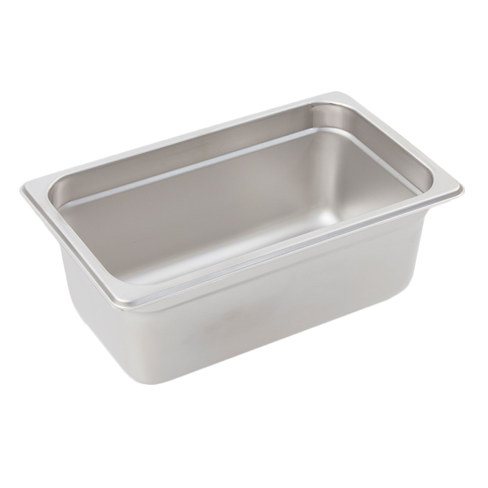 Crestware 4144 steam table pan, stainless steel