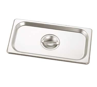 Crestware 5000S steam table pan cover, stainless steel