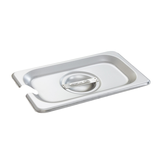 Crestware 5190S steam table pan cover, stainless steel