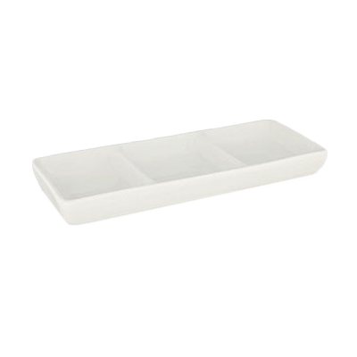 Crestware QUA7 china, compartment dish bowl