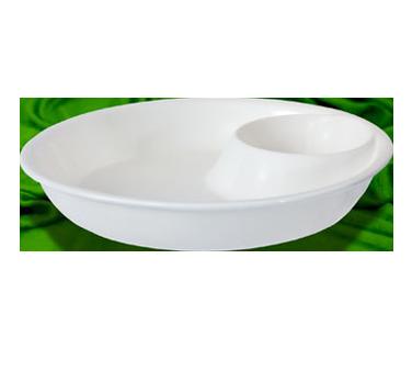 Crestware SER15 china, compartment dish bowl
