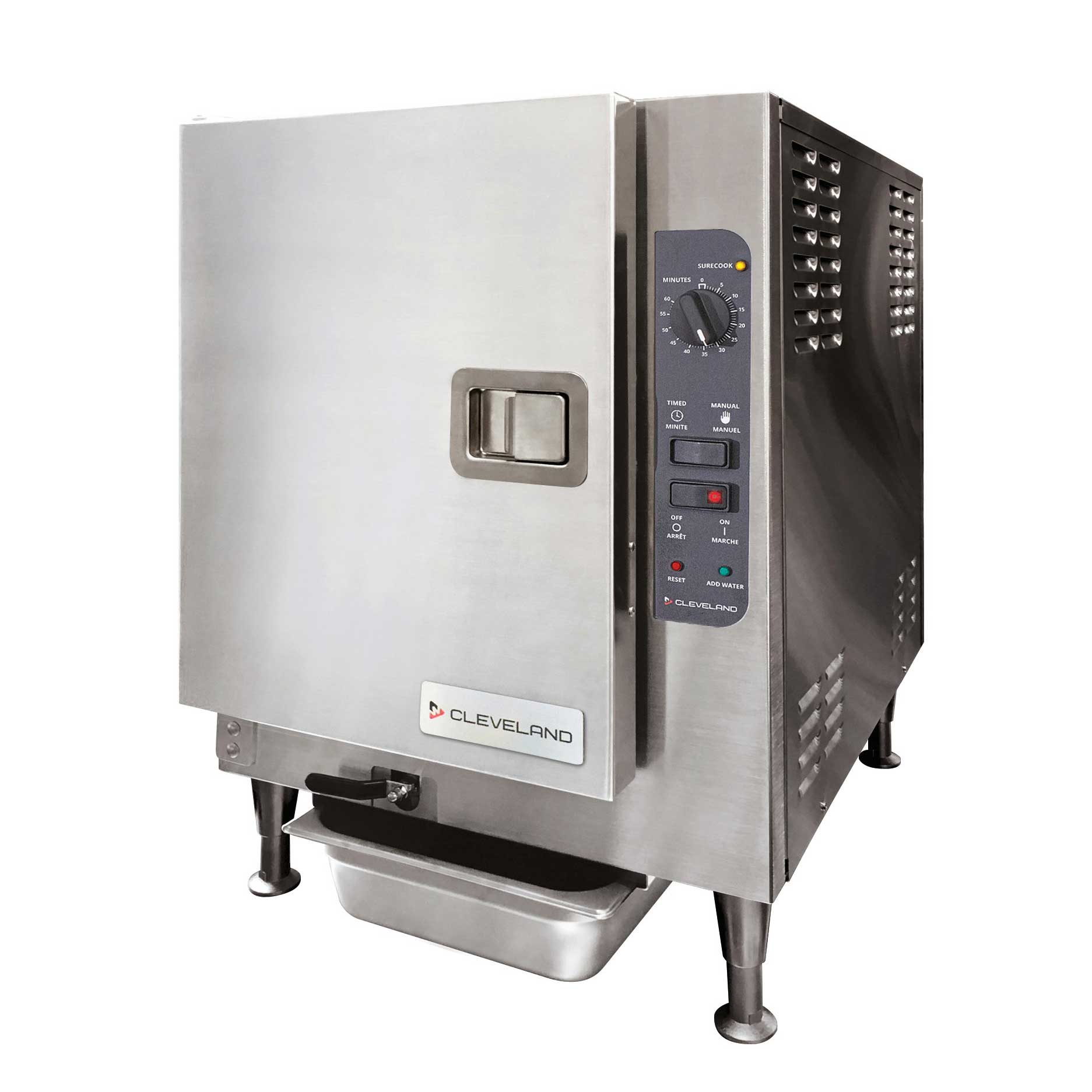 Cleveland Range 22CCT6 steamer, convection, boilerless, countertop