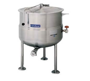 Cleveland Range KDL100 kettle, direct steam, stationary