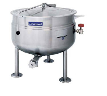 Cleveland Range KDL40SH kettle, direct steam, stationary