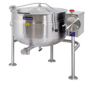 Cleveland Range KDL40TSH kettle, direct steam, tilting