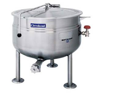 Cleveland Range KDL80SH kettle, direct steam, stationary