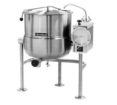 Cleveland Range KDL80T kettle, direct steam, tilting