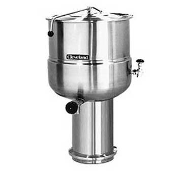 Cleveland Range KDP100 kettle, direct steam, stationary