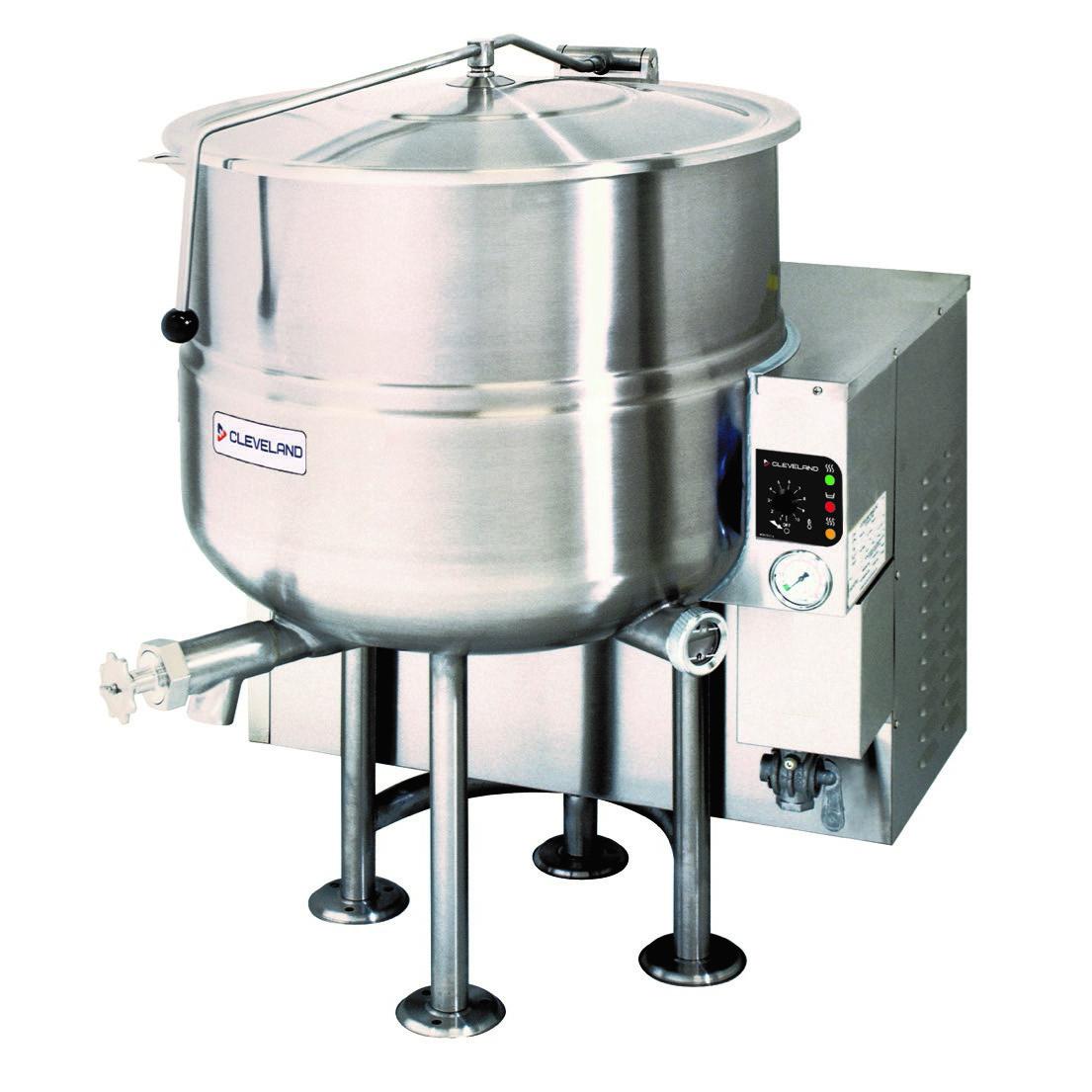 Cleveland Range KGL80 kettle, gas, stationary