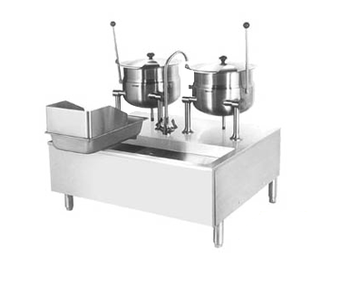 Cleveland Range SD1600K620 kettle cabinet assembly, direct-steam