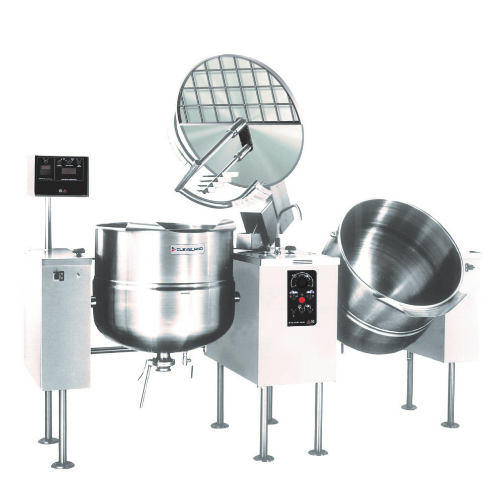 Cleveland Range TMKDL100T kettle mixer, twin unit, direct