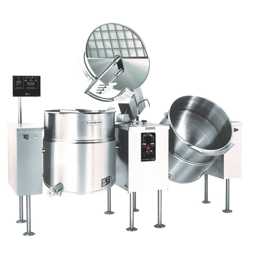 Cleveland Range TMKEL40T kettle mixer, twin unit, electric