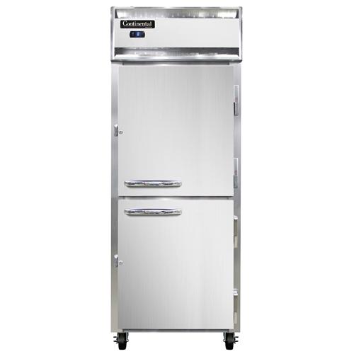 Continental Refrigerator 1FE-PT-HD freezer, pass-thru