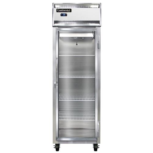 Continental Refrigerator 1F-GD freezer, reach-in