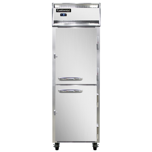 Continental Refrigerator 1FNHD freezer, reach-in