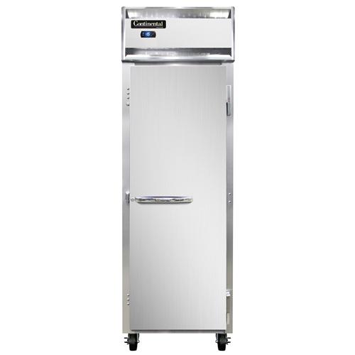 Continental Refrigerator 1F-LT-SS freezer, low temperature, reach-in