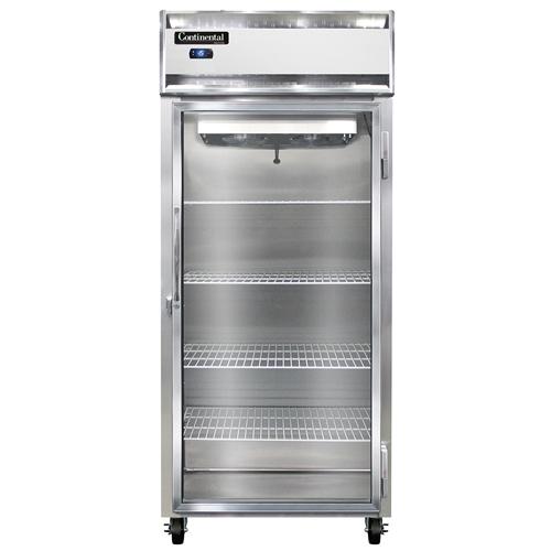 Continental Refrigerator 1FX-LT-SA-GD freezer, low temperature, reach-in