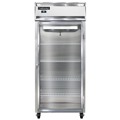 Continental Refrigerator 1FX-LT-SS-GD freezer, low temperature, reach-in