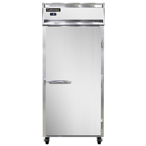 Continental Refrigerator 1FXS-SA freezer, reach-in
