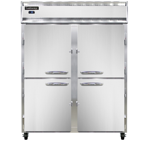 Continental Refrigerator 2FES-SS-HD freezer, reach-in