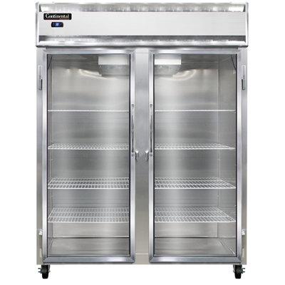 Continental Refrigerator 2RES-SS-GD refrigerator, reach-in
