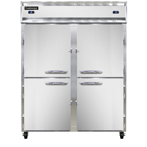 Continental Refrigerator 2RFENHD refrigerator freezer, reach-in