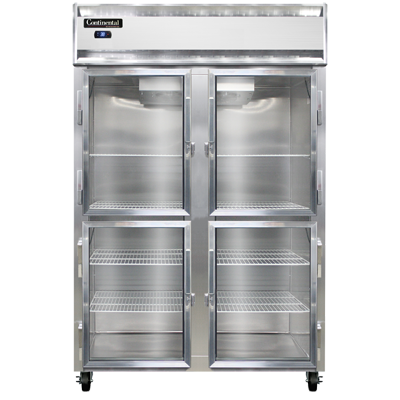 Continental Refrigerator 2RS-SS-GD-HD refrigerator, reach-in