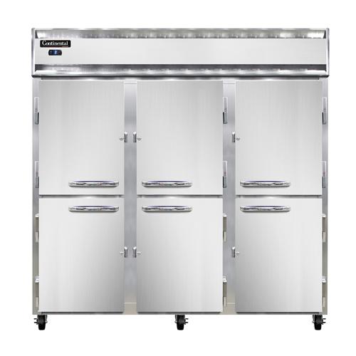 Continental Refrigerator 3F-SA-PT-HD freezer, pass-thru