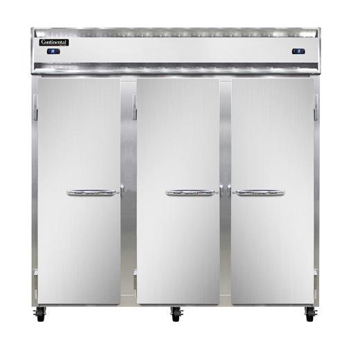Continental Refrigerator 3RFF refrigerator freezer, reach-in