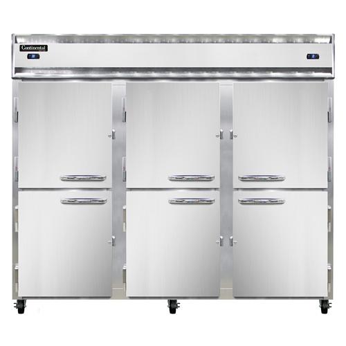 Continental Refrigerator 3RFFE-HD refrigerator freezer, reach-in
