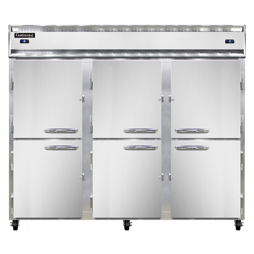 Continental Refrigerator 3RFFE-SA-HD refrigerator freezer, reach-in