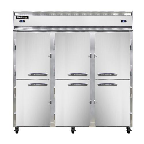 Continental Refrigerator 3RFF-SS-HD refrigerator freezer, reach-in