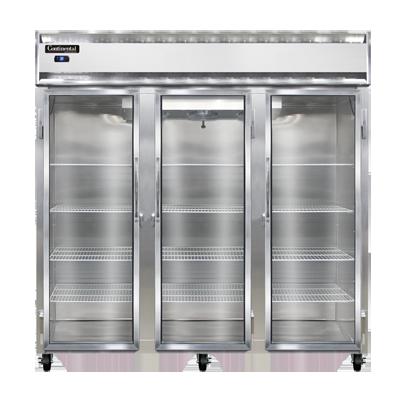 Continental Refrigerator 3RNSSGD refrigerator, reach-in