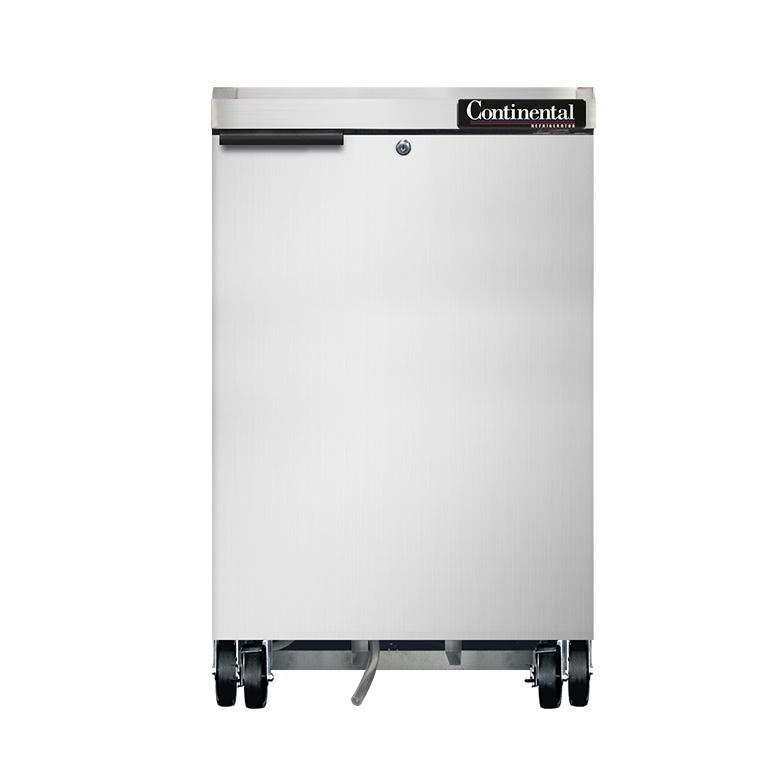 Continental Refrigerator BB24NSS back bar cabinet, refrigerated