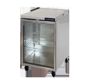 Continental Refrigerator BB24NSSGD back bar cabinet, refrigerated