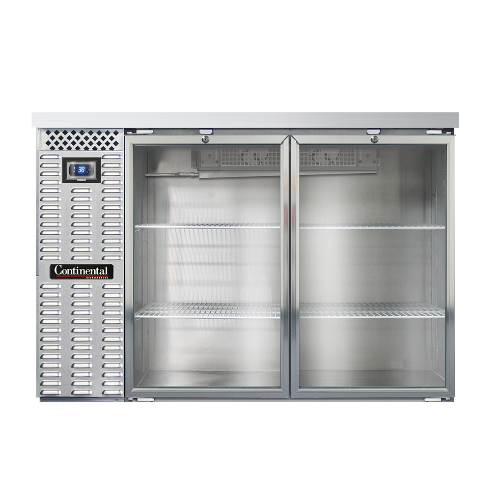 Continental Refrigerator BB50SNSGD back bar cabinet, refrigerated